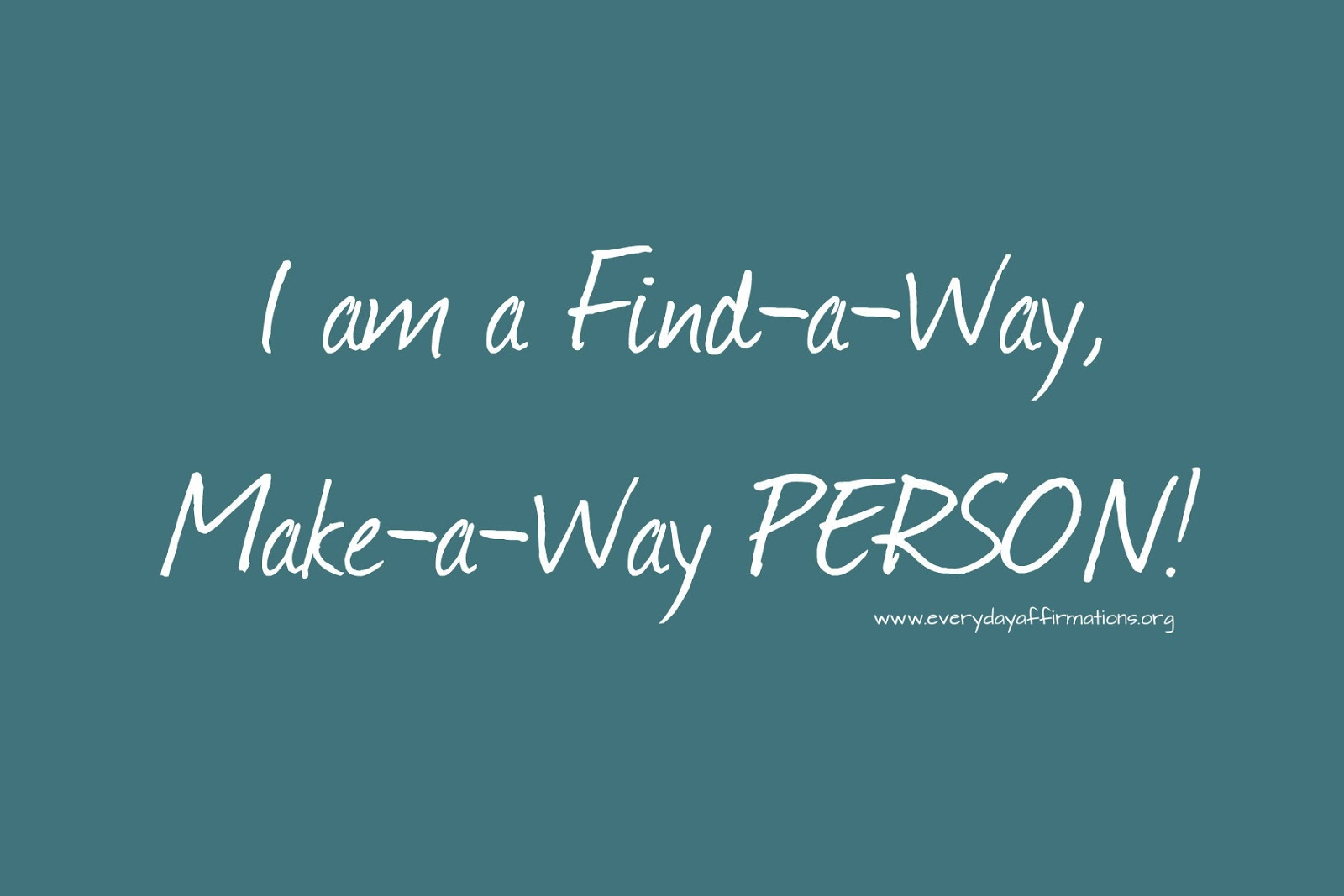 Referral Your Way to a Job, Plus Goals and Daily Affirmations…